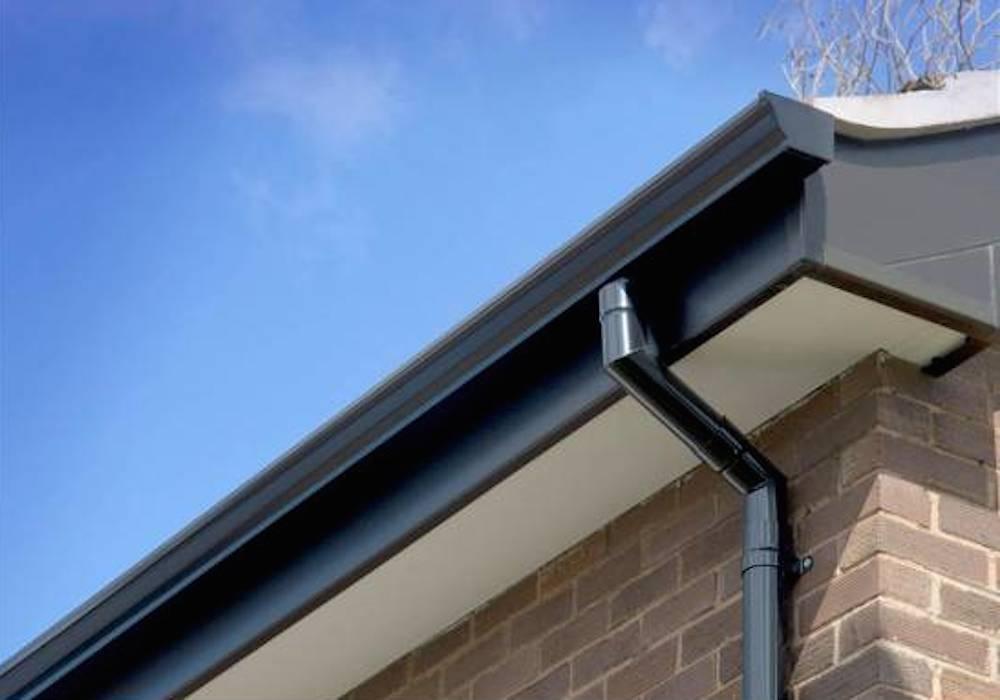Seamless Aluminium Gutters PVC Downpipe