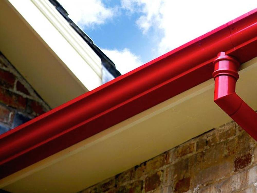 Cast Aluminium Gutters Moulded Ogee
