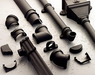 Cast Iron Effect PVC Guttering