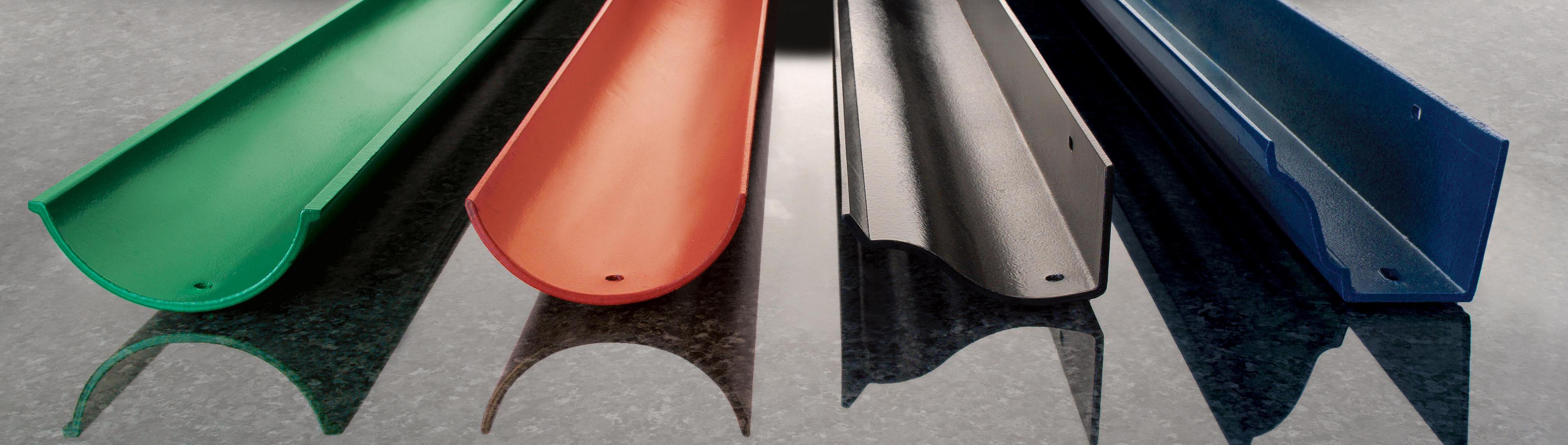 Cast Aluminium Gutter Profiles