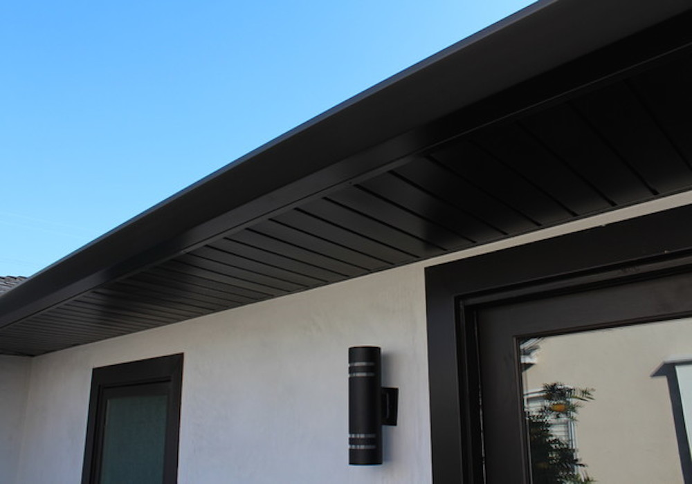 Black Aluminium Fascia and Soffit