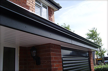 Seamless Aluminium Gutters Fascia and Soffit