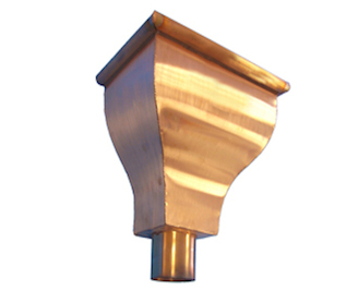 Copper Hopper Head
