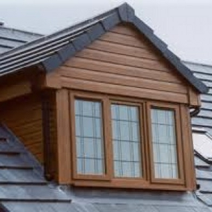 Pvc cladding for dormer windows