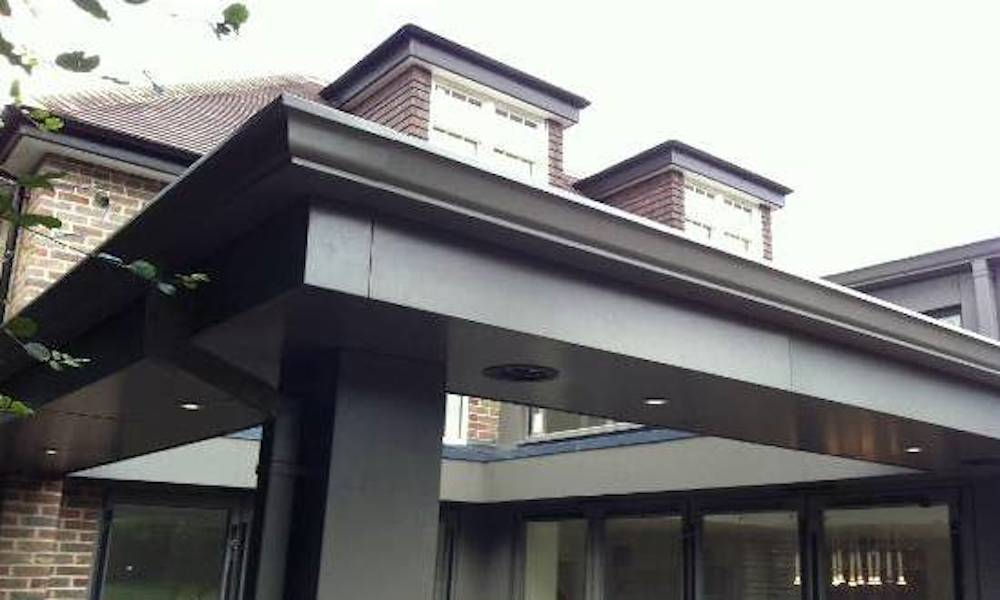 Architectural Aluminium Cladding Fascia and Soffit
