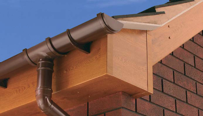 Light Oak PVC Fascia and Soffit