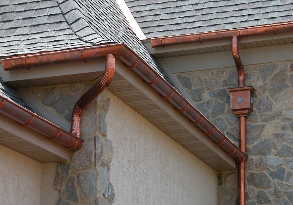 Copper Gutters Aluminium Fascia and Soffit