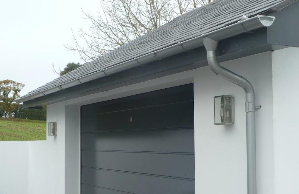 Lindab Gutters and Downpipe